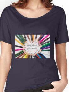 Making A Difference Women's Relaxed Fit T-Shirt