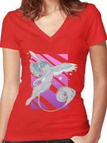 Take Flight Women's Fitted V-Neck T-Shirt