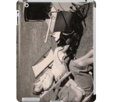 The relaxed attitude to parenting in the 1930s. iPad Case/Skin