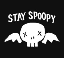 Stay Spoopy (White) One Piece - Short Sleeve