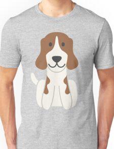 Beagle Illustration Unisex T-Shirt