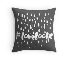 Love books Throw Pillow