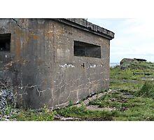 embrasure gun turret sea fort Photographic Print