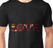 Love Firefighter Unisex T-Shirt