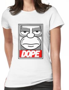 Dope - The Simpsons Womens Fitted T-Shirt