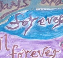 Always and Forever 2 Sticker