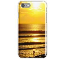 Sunset and a Surfer iPhone Case/Skin