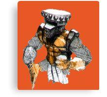 Iron Knight Canvas Print