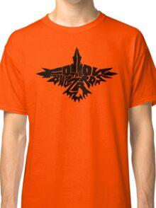 Follow The Buzzards - Black Logo Classic T-Shirt