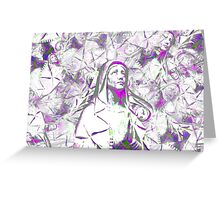 mary hysteria  Greeting Card