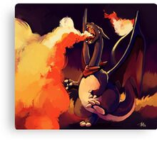 Flamer Canvas Print