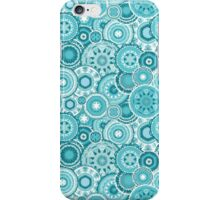 Moroccan vector pattern in turquiose iPhone Case/Skin