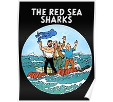 tintin and the red sea  Poster