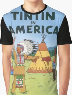 tintin in america Graphic T-Shirt