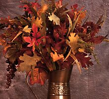 Beautiful Fall Arrangement / Still Life by Sherry Hallemeier