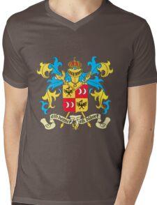 tintin sildavia Mens V-Neck T-Shirt
