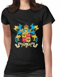 tintin sildavia Womens Fitted T-Shirt