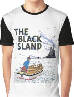 tintin the black island Graphic T-Shirt