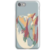 Abstract Artistic Colourful Summer Tulip iPhone Case/Skin