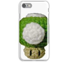 Knitted Extra Life Mushroom iPhone Case/Skin