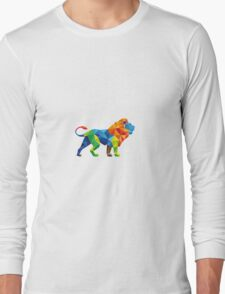Lion Crystal Long Sleeve T-Shirt