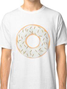 Gold Glitter Sprinkles Donut Classic T-Shirt