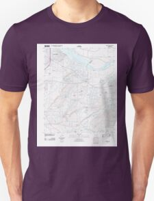 USGS TOPO Map Arkansas AR Barling 20110727 TM Unisex T-Shirt