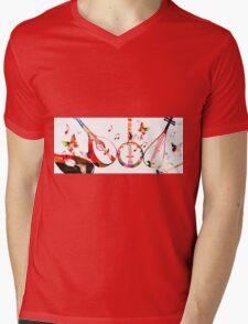 .music. Mens V-Neck T-Shirt