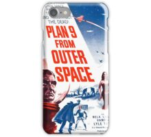 PLAN 9 from Outer Space iPhone Case/Skin
