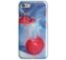 Cherries and Silver Jug iPhone Case/Skin