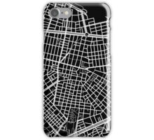 Sofia Map - Black iPhone Case/Skin