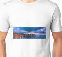 Waiting for dawn at Cala d'Enmig - panorama Unisex T-Shirt