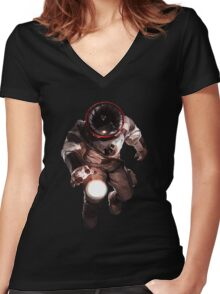 Almost Die Women's Fitted V-Neck T-Shirt