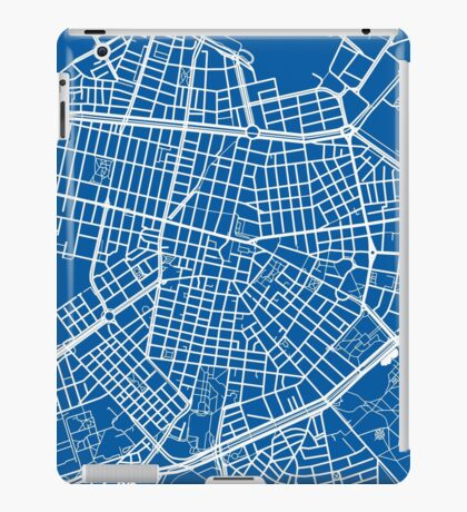 Sofia Map - Deep Blue iPad Case/Skin