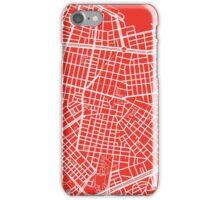 Sofia Map - Red iPhone Case/Skin
