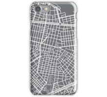 Sofia Map - Gray iPhone Case/Skin