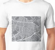 Sofia Map - Gray Unisex T-Shirt