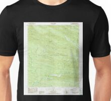 USGS TOPO Map Arkansas AR Eagle Mountain 258370 1986 24000 Unisex T-Shirt