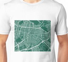 Sofia Map - Dark Green Unisex T-Shirt