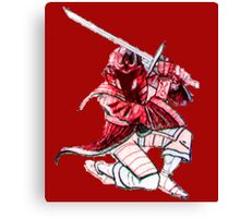 Red Stealth Canvas Print