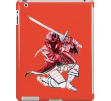 Red Stealth iPad Case/Skin