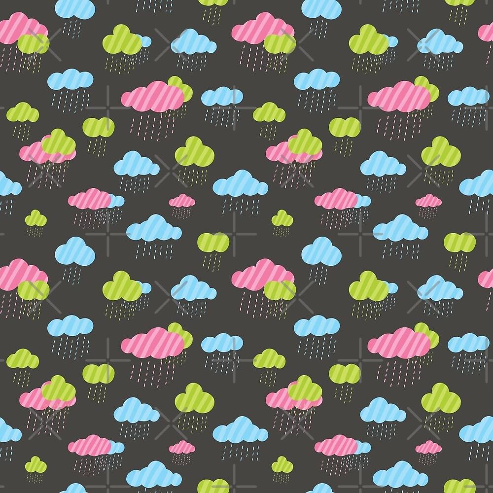 Rainy Clouds by Anna Alekseeva