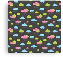 Rainy Clouds Canvas Print