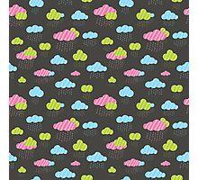 Rainy Clouds Photographic Print
