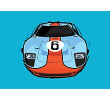Ford GT40 mkV Photographic Print