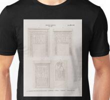 0331 Neues Reich Dynastie XIX a c Aegyptische Felsenstelen bei Berut in Syrien a Nördlichste b Mittlere c Südlichste d Assyrische Stele Unisex T-Shirt