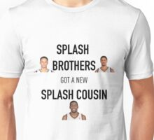 Splash Brothers + Splash Cousin Unisex T-Shirt
