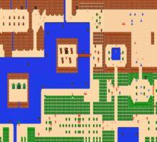 Legend of Zelda - Overworld Map Sticker