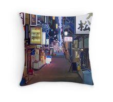 Night in Japan  Throw Pillow