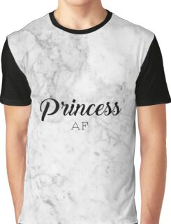 Princess AF - Tumblr Inspired Graphic T-Shirt